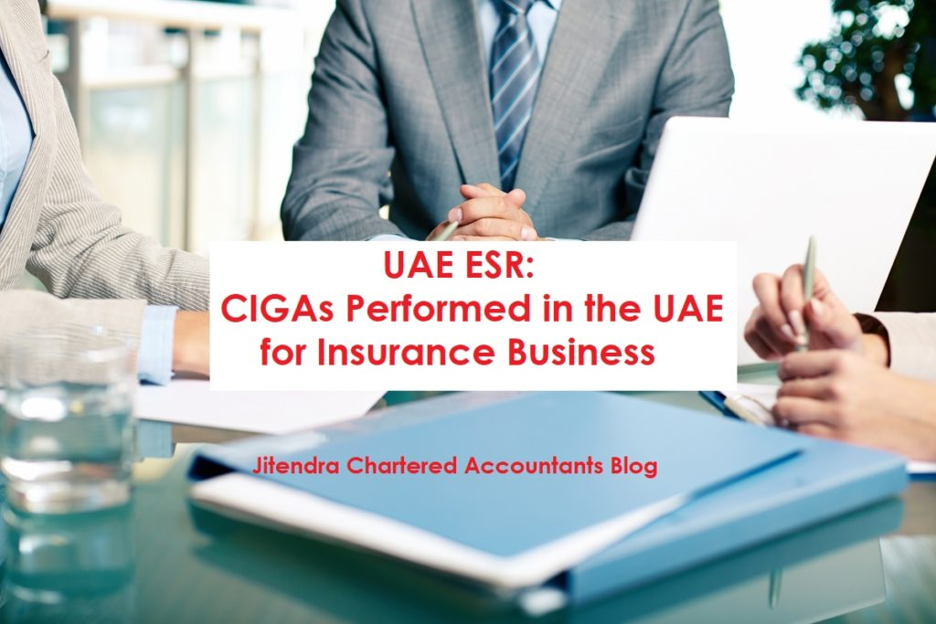 CIGAS Performed on Insurance Business the UAE as per ESR.