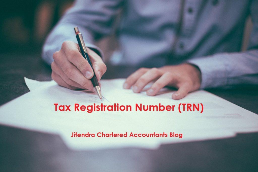 Tax registration number