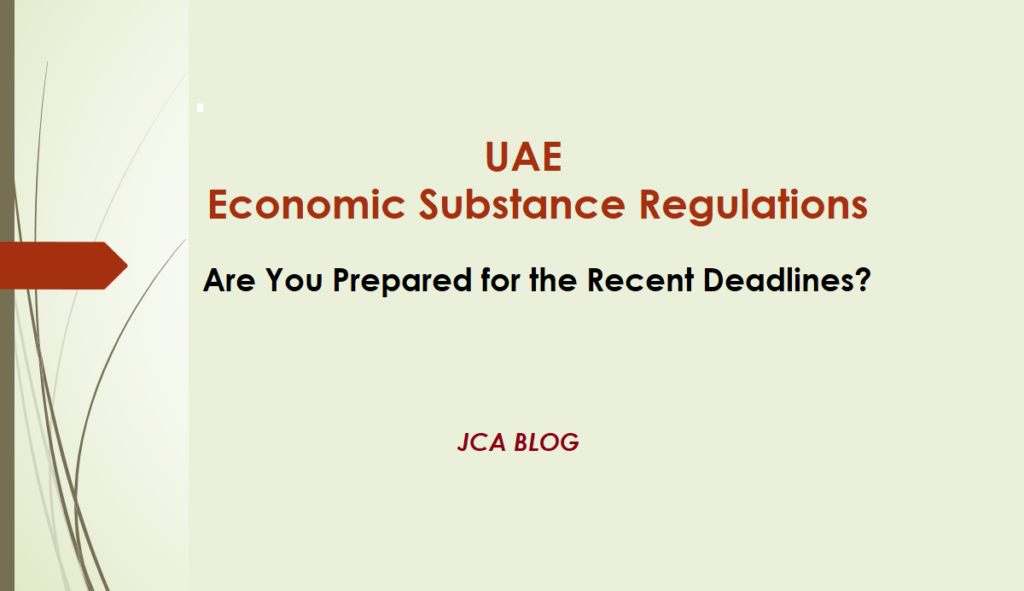 UAE ESR Are you Prepared for the Updated Rules & Deadlines