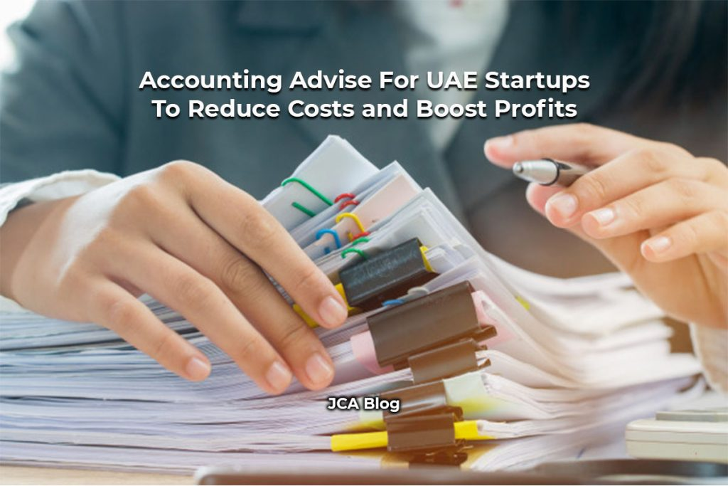 Accounting Advise For UAE Startups To Reduce Costs and Boost Profits