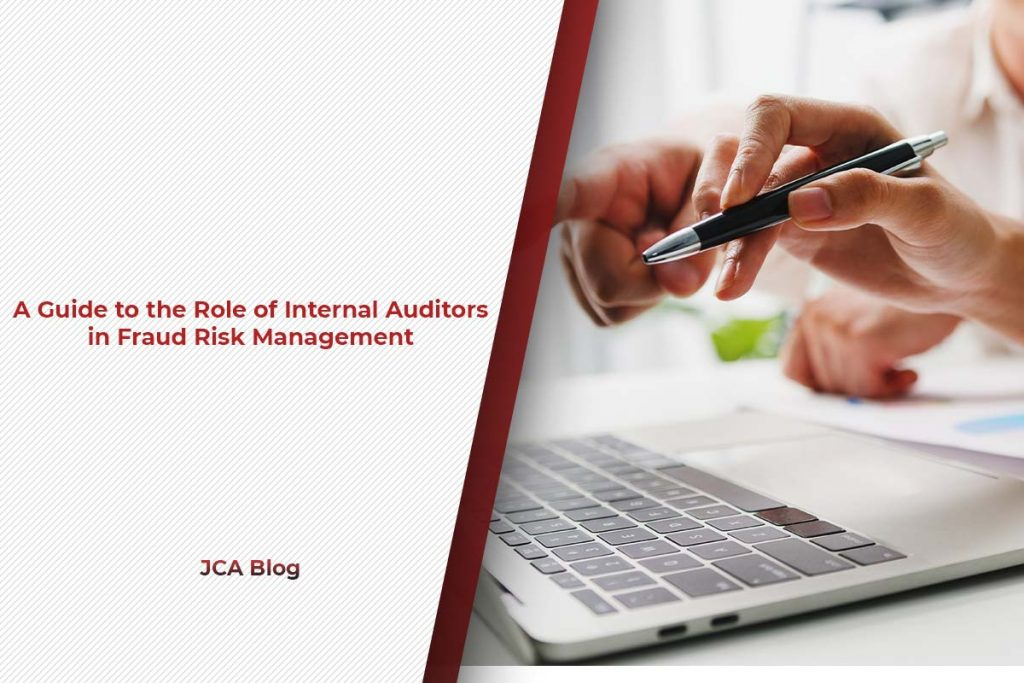 A guide to the Role of internal auditors in fraud risk management