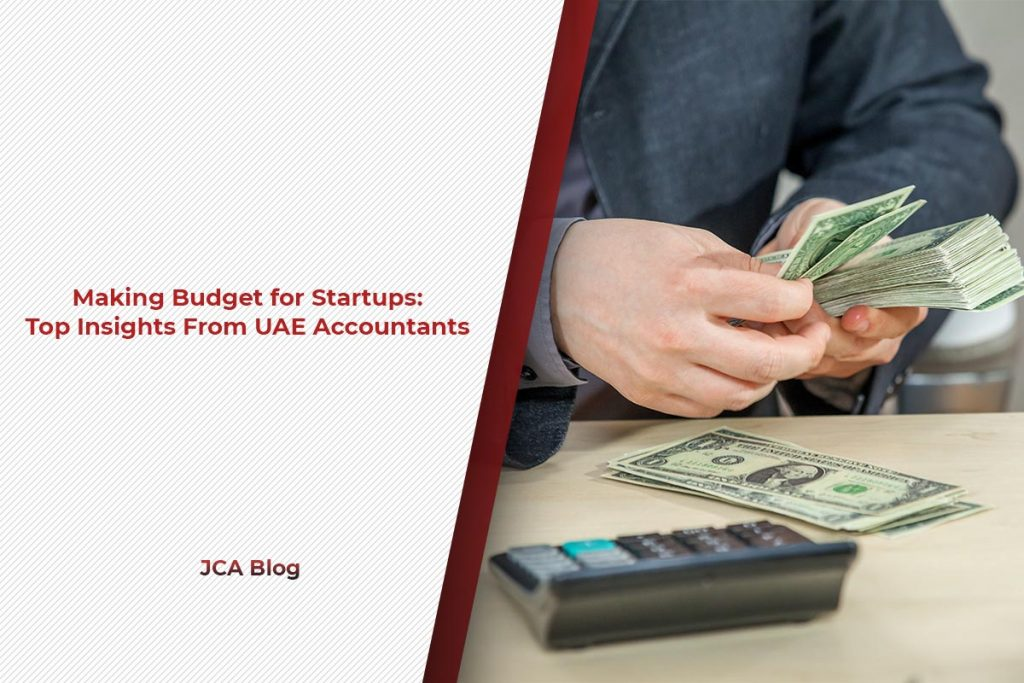 Making Budget for Startups Top Insights From UAE Accountants