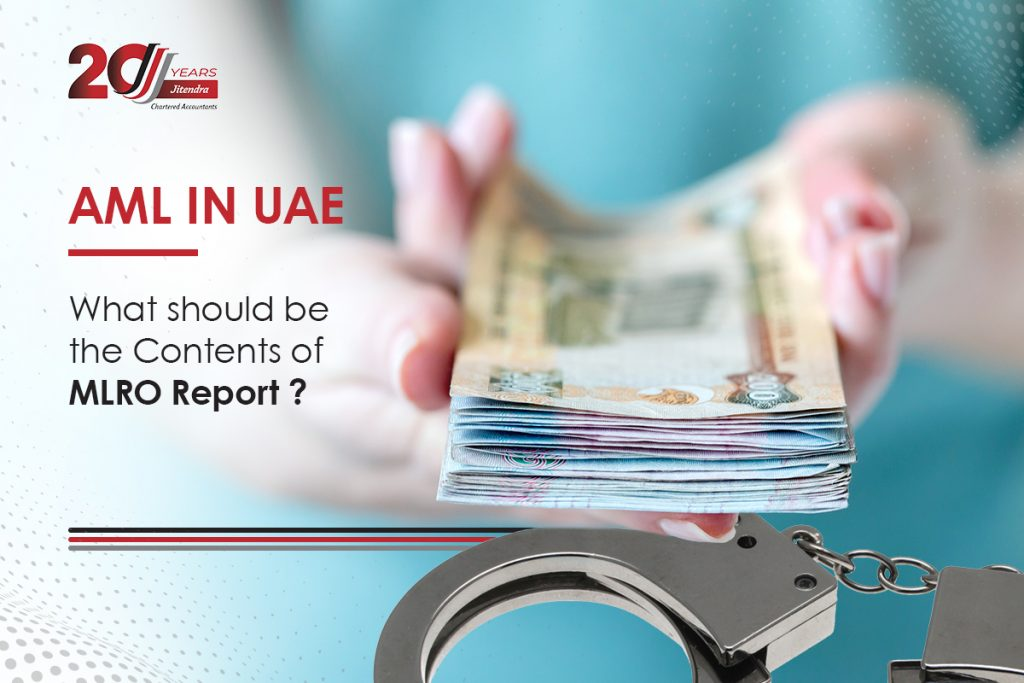 AML in UAE What should be the Contents of MLRO Report