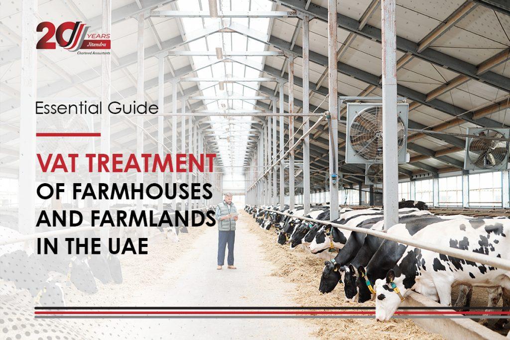 VAT treatment of farmhouse